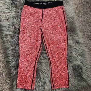 Nike Dri-Fit Relay Printed Cropped Running Capri